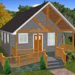 The Oasis 600 Sq. Ft. Handicap Accessible House Plans 2