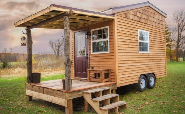 The Petite Cabin 150 Sq Ft Thow For Sale In Huntington