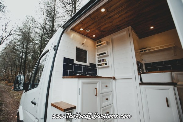 The Road is Our Home Sprinter Conversion 001