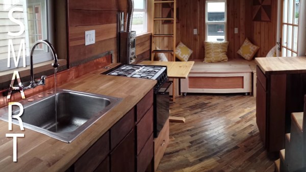 The Steam Punk Tiny House on Wheels by Tiny Smart House 002