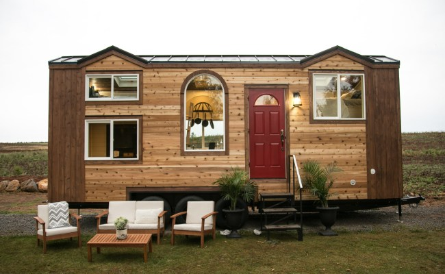 Dual Loft Theater Tiny House By Tiny Heirloom For Sale