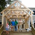 Timber Frames for Tiny Homes 8