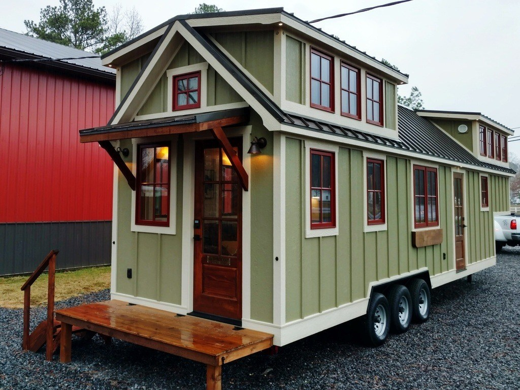 cheap stainless steel kitchen appliances the honest perfect form timbercraft 37' tiny house on wheels for sale, al