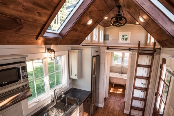 Custom 28 Tiny House On Wheels With Two Oversized Dormer