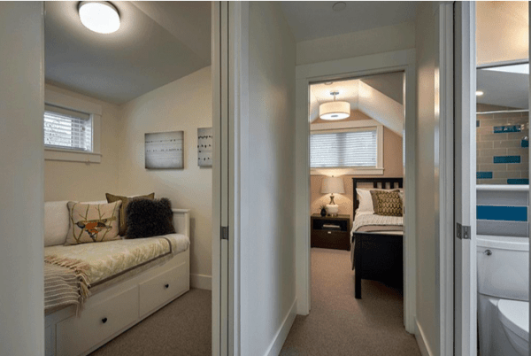 Laneway House, Small House Bedroom