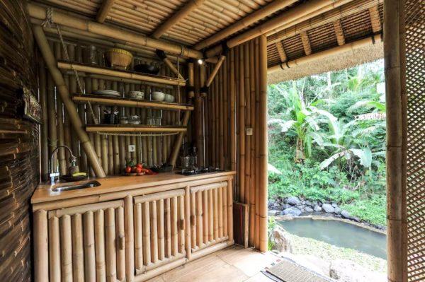 Tiny Bamboo Cabin in Bali