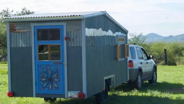 Tiny Beach House on Wheels For Sale 001