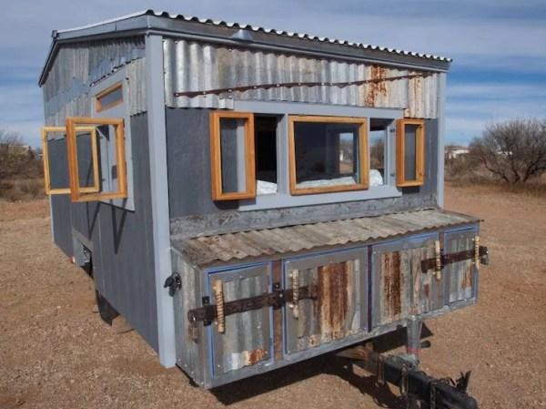 Tiny Beach House on Wheels For Sale 0028