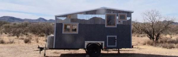 Tiny Beach House on Wheels For Sale 0029