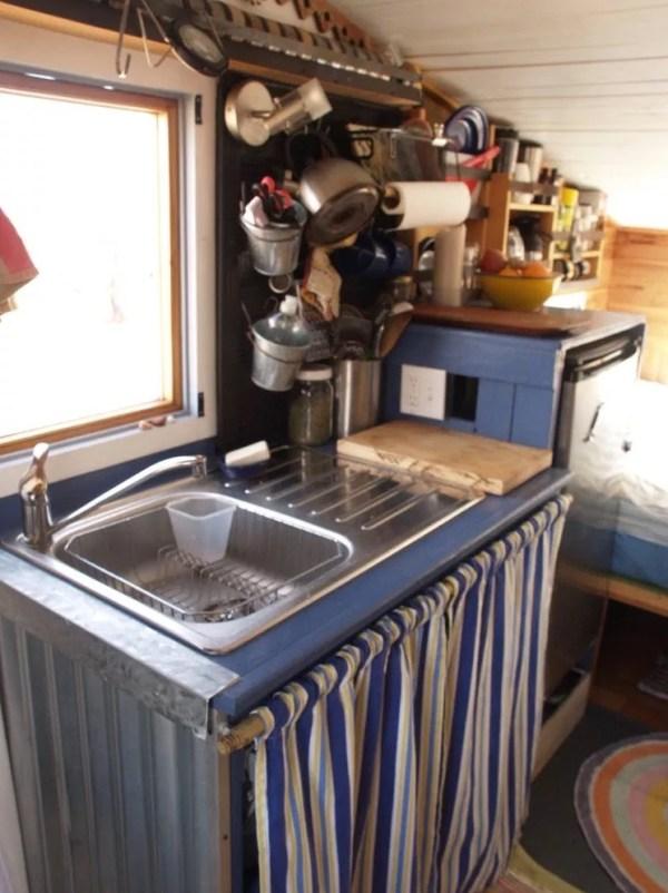 Tiny Beach House on Wheels For Sale 008