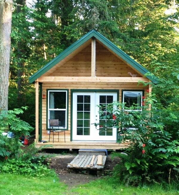 Tiny Cabin For Sale in Graham 001