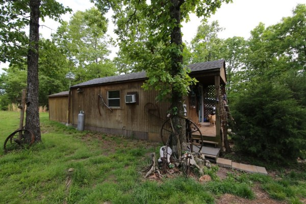 Tiny Cabin on 5 Acres For Sale in the Ozarks 001