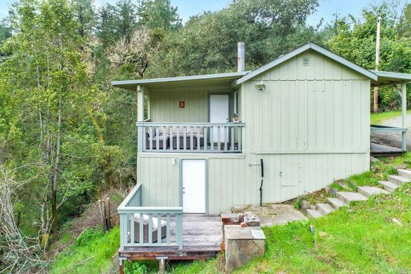 Tiny Cottage with View in Cazadero 0018