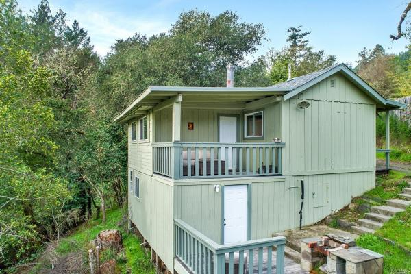 Tiny Cottage with View in Cazadero 0019