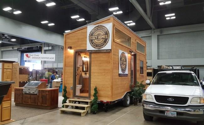 Double Loft Tiny House On Wheels With Big Bathroom