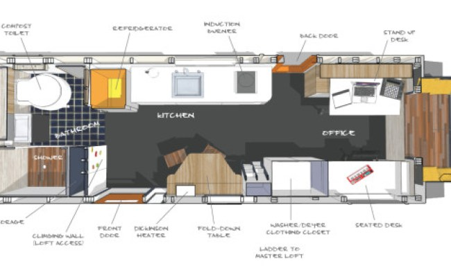 200 Sq Ft Tiny Giant House For Sale