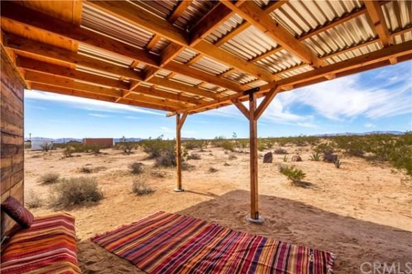 Tiny Homestead Cabin Shell on Five Acres in Joshua Tree CA_006