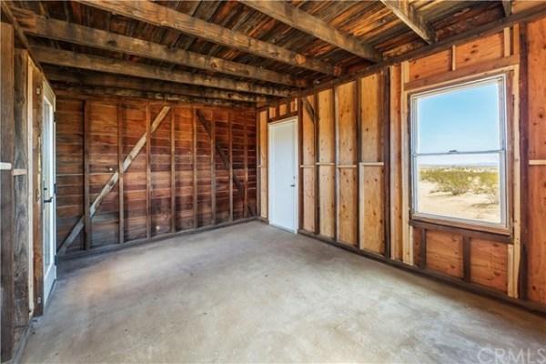 Tiny Homestead Cabin Shell on Five Acres in Joshua Tree CA_008