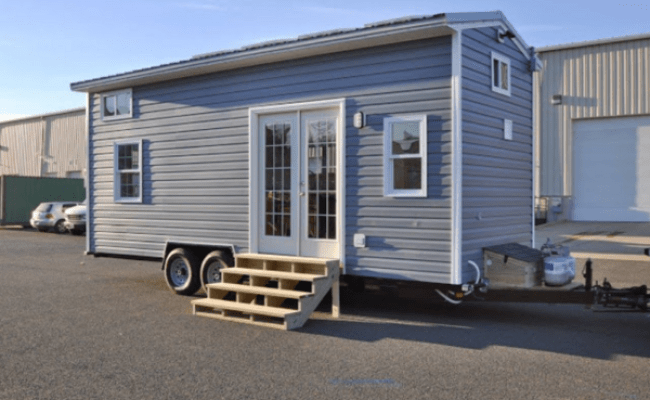 Tiny House Building Company S Solar Powered Cottage On Wheels