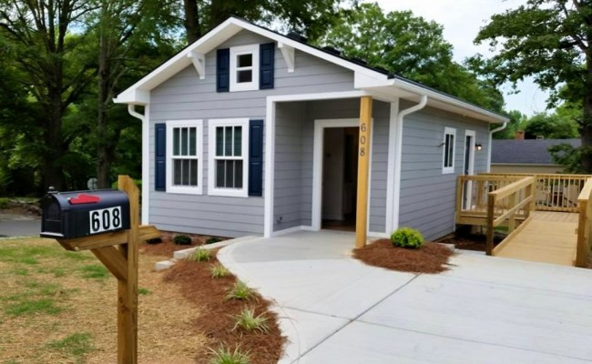 Habitat For Humanity Tiny House In Cabarrus County Nc