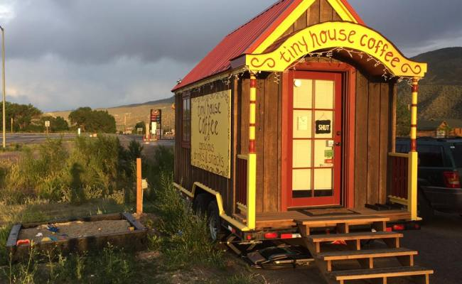 Tiny House Coffee Co A Mobile Coffee Shop In Colorado
