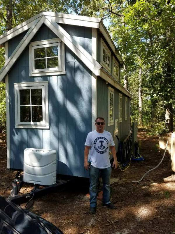 Tiny House Parking in Carthrage North Carolina 002