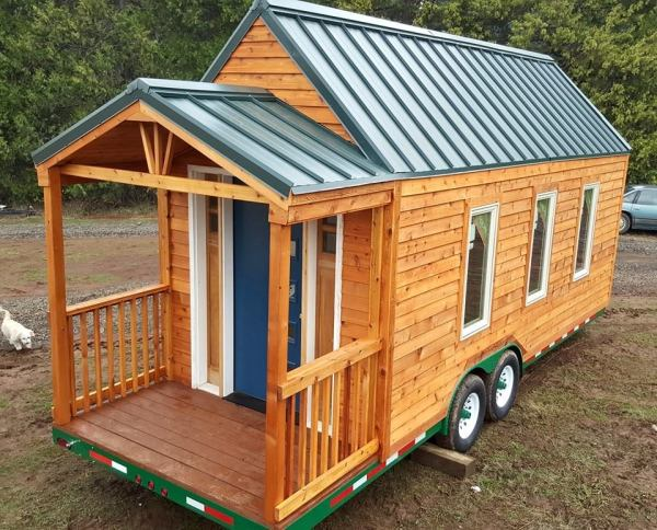 15k tiny house shells from tiny house basics for Cheapest custom home builders