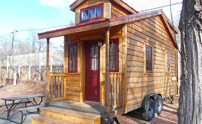 Tiny House Vacation In Colorado Springs Co