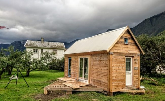Gøran Johansen S Tiny Home In Norway With Plans