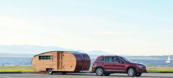 Tiny House-inspired Pop Up Travel Trailer by Home Grown Trailers 001