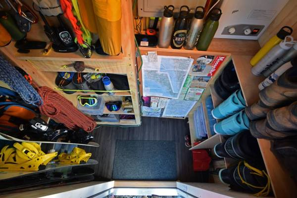 Tiny House on Wheels with Lots of Storage 02