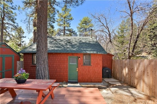 Tiny Mountain Cabin in Idyllwild California For Sale with Land 0018