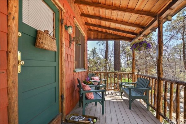 Tiny Mountain Cabin in Idyllwild California For Sale with Land 003