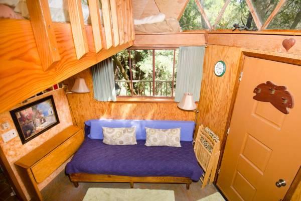 Tiny Mushroom Dome Cabin