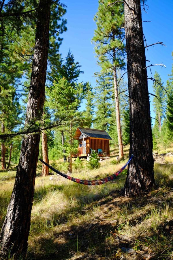 Tiny OffGrid Mountain Cabin