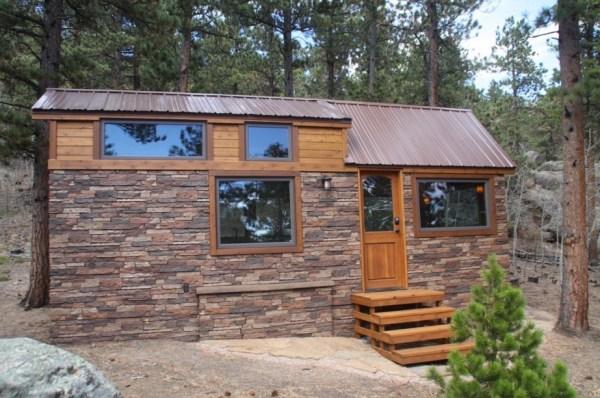 Tiny Stone Cottage on Wheels by Simblissity 0020