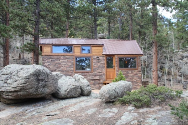 Tiny Stone Cottage on Wheels by Simblissity 0021