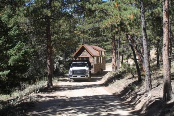 Tiny Stone Cottage on Wheels by Simblissity 0023