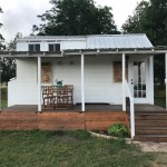 Tiny Texas Farmhouse For Sale with Detached Office 001