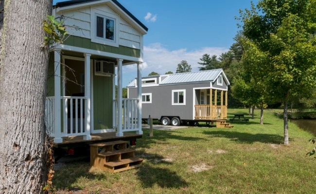 Tiny House Community Open House Near Asheville North Carolina
