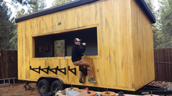 Tongue and Groove Tiny Tavern on Wheels 001