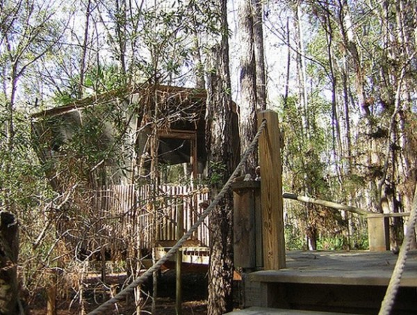 Tree Houses at Hostel Forest in Brunswick Georgia 009