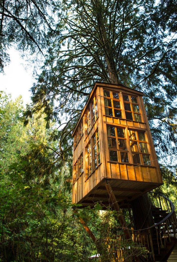 Trillium Treehouse at Treehouse Point 005