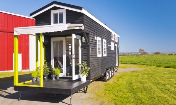 Triple Axle Tiny Home on Wheels by Tiny Living Homes 0011