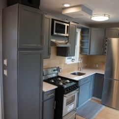 Floating Kitchen Cabinets Free Standing For Two-story Shipping Container Tiny House Sale