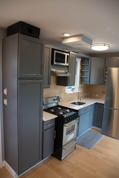 floating kitchen cabinets narrow islands two-story shipping container tiny house for sale