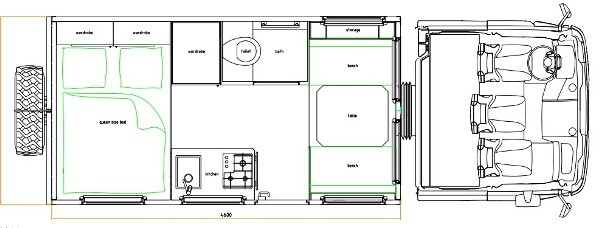 Unicat TerraCross Off Road HouseTruck Tiny Home