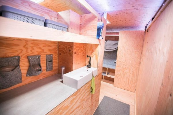 commercial kitchen hot box fixtures lowes urban stealth uhaul conversion: truck tiny house for sale!