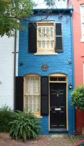 The same Virginia tiny house, now.