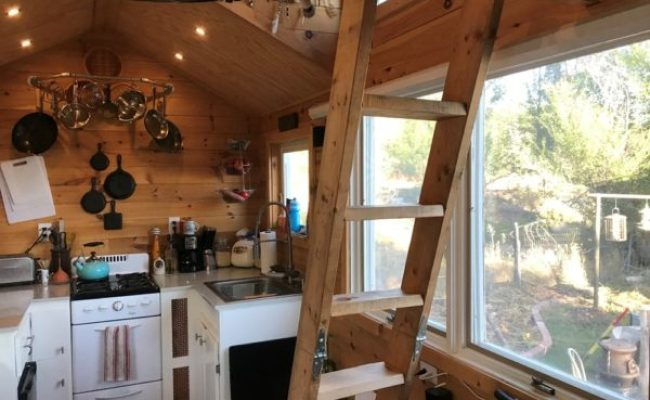 160 Sq Ft Vermont Built Tiny Home On Wheels For Sale In